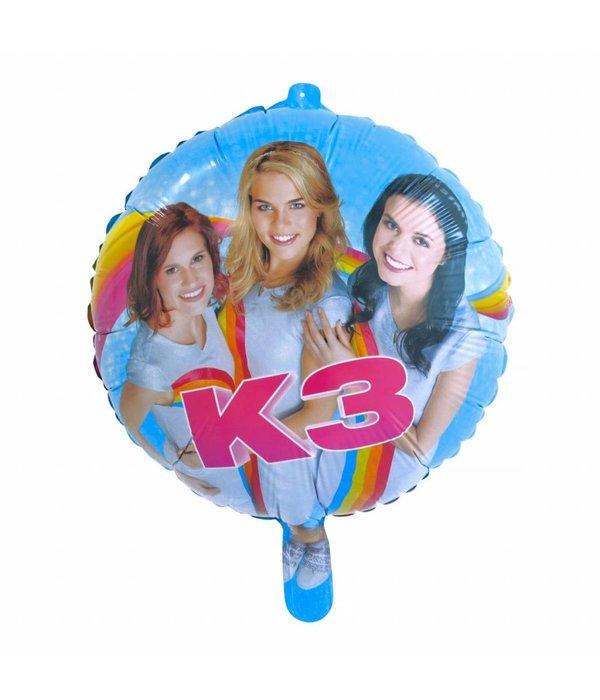 K3 Party Folieballon 46cm