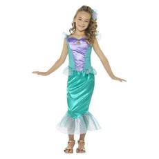 Zeemeermin jurk met haar clip