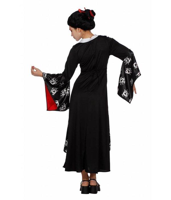Aziatisch verkleedkostuum vrouw