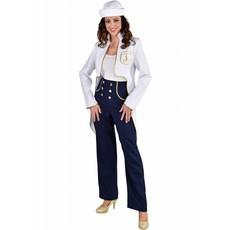 Marine jas dames met broek