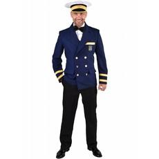 Luxe Colbert Kapitein blauw