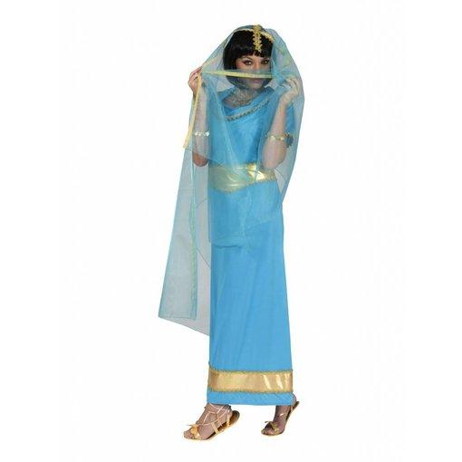 Indiaans kostuum vrouw Anandi