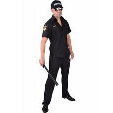 Politie Blouse heren Carnaval
