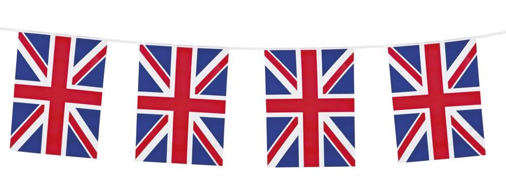 Engelse Vlaggenlijn UK - 10 meter