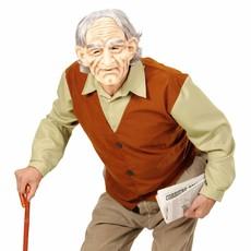 Opa Oude Man Kostuum