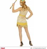 Gouden Indianenkostuum dames