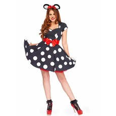 Miss Minnie Mouse kostuum