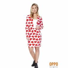 Hartendief Queen Of Hearts Kostuum Vrouw