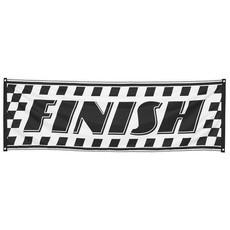 Race Finish Vlag 74x220cm