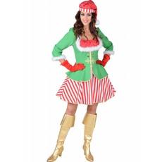 Kerstelf Kostuum Vrouw