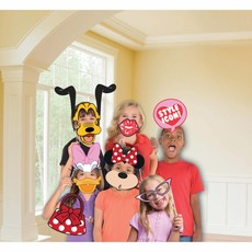 Photo Booth Kit Minnie Mouse 12 stuks