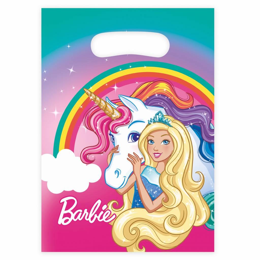Barbie Uitdeelzakjes Dreamtopia 8 stuks