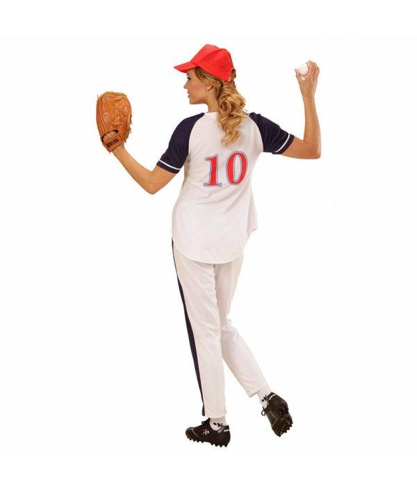 All Star Honkbal Vrouw Kostuum