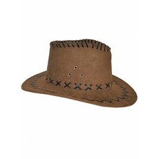 Cowboyhoed bruin kind