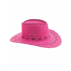Cowboyhoed roze kind