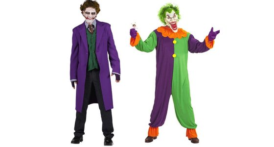 Joker kostuum