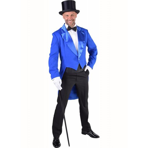 Slipjas blauw heren Cabaret half gevoerd