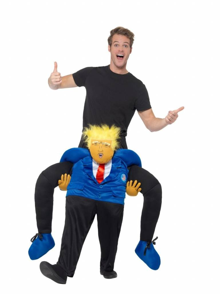 Jump In kostuum President Trump