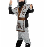 Grijs Ninja pakje kind