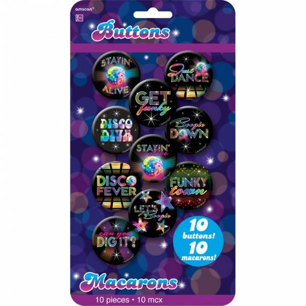 10 Buttons Disco Fever 70's