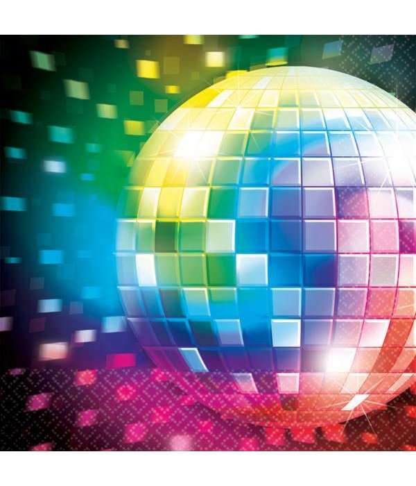 16 Servetten Disco Fever 70's