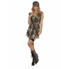 Army Outfit kostuum dames