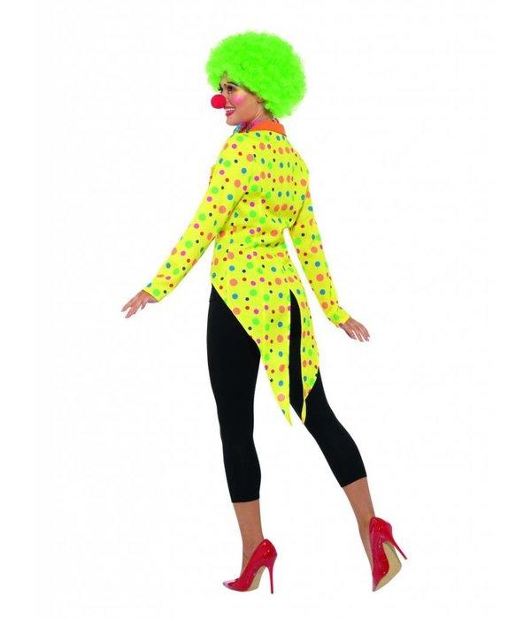 Kleurrijke Clownsjas dames