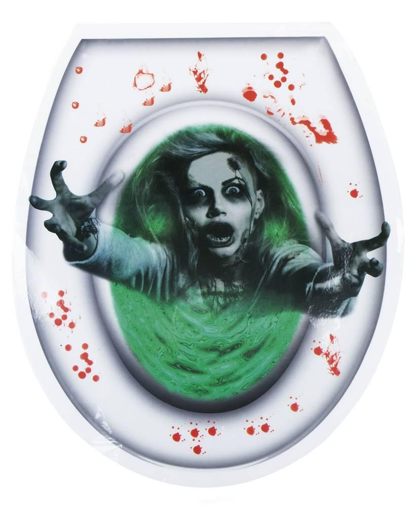 Toilet sticker Ghost