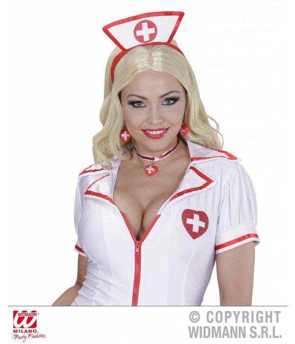 Halsketting en oorbellen verpleegster