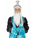 Oosterse Meester pruik met baard