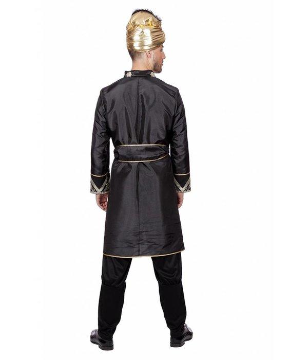 Bollywood Man Kostuum zwart