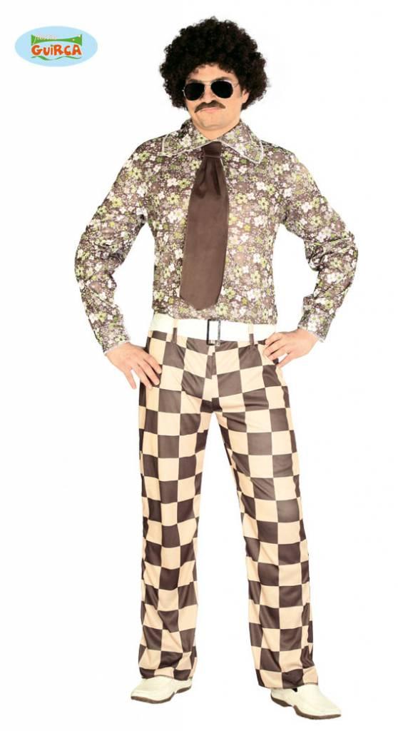 Groovy Outfit Heren Brady Feestbazaarnl