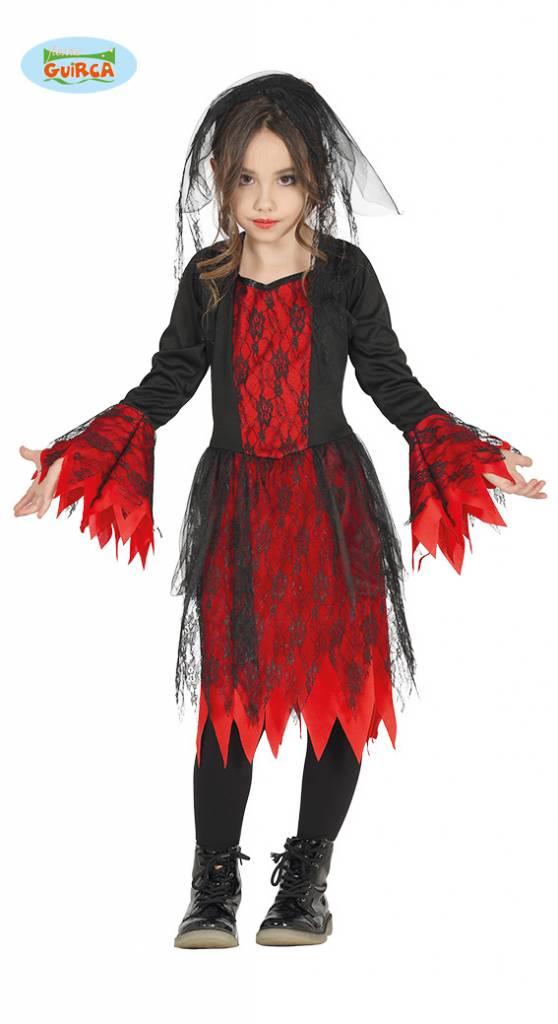 Gothic Girl jurk kind