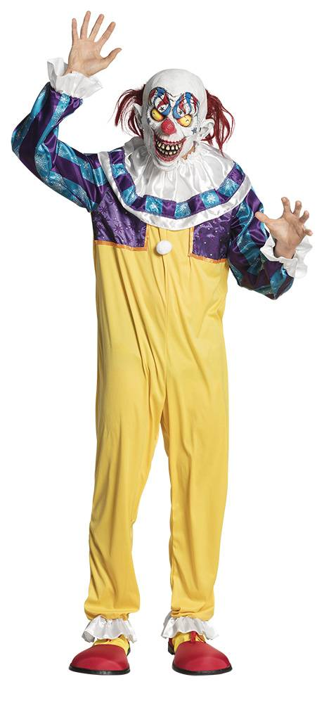 Creepy Clown kostuum man