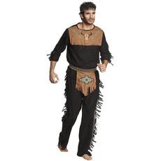 Indiaan kostuum man Noble Wolf