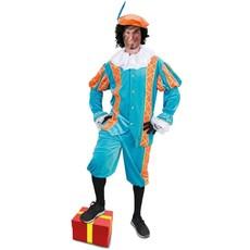 Pietenpak Amando turquoise/oranje luxe