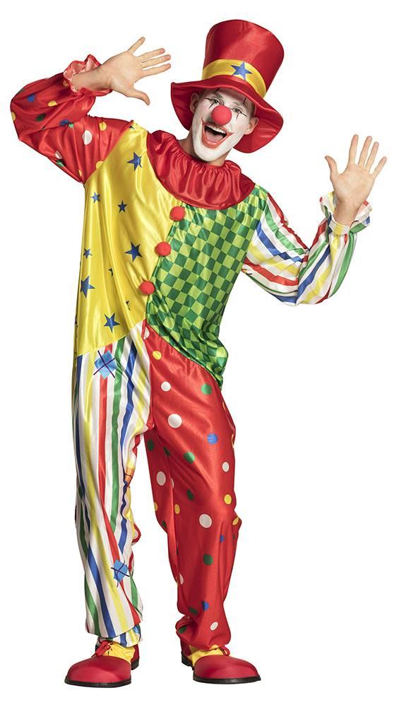 Clown kostuum heren Giggles