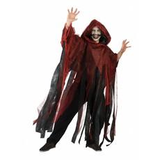 Grafschender cape rood volwassenen