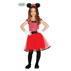 Klein Muisje kostuum kind rood