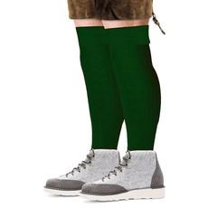Tiroler sokken lang deluxe groen