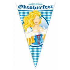 Oktoberfest Bierpullen Mega Vlag - 90x150cm