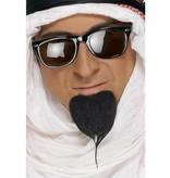 Arabische baard zwart