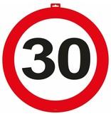 30 Jaar Verkeersbord Deurbord - 47cm