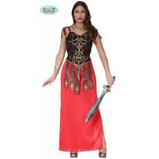 Spartaanse dameskostuum middeleeuwen