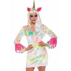 Velvet Unicorn dames kostuum jurk