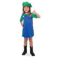 Groen Super Loodgieter Pakje voor Meisjes