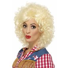 Rodeo Doll pruik blond