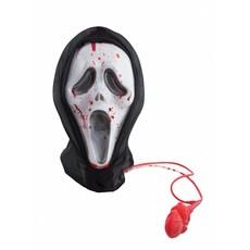 Scream masker met stromend bloed