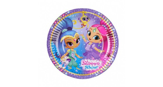 Shimmer and Shine versiering