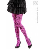 Panty zebraprint roze
